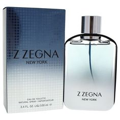 Ermenegildo Zegna Z Zegna New York Men s 3.4-ounce Eau de Toilette Spray  (3.4 65513a3b2c7