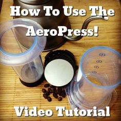 Somehow, a company famous for making a supped up frisbee created an exceptional coffee brewer. This video will show you how to easily make awesome coffee with the AeroPress!  The most important thing is... http://www.coffeenate.com/how-to-make-coffee-with-the-aeropress-aeropress-video-tutorial  coffee, coffee, coffee, coffee, coffee!!!