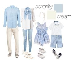 Great Example of soft color and light pattern mixed. Family Picture Colors, Family Picture Outfits, Bild Outfits, Inspiration Photoshoot, Spring Family Pictures, Family Pics, Family Family, Family Posing, Family Portrait Outfits