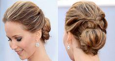 Coque by Jennifer Lawrence Rose Namajunas, Celebrity Hairstyles, Bride Hairstyles, Cool Hairstyles, Hairdos, Women's Fashion Leggings, Vintage Wedding Hair, Bridal Updo, Tips Belleza