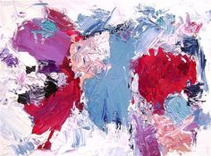 abstract art,expressionism art, oil painting, Real Simple #EasyNip