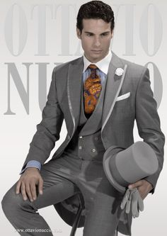 Groom man : from Armani to Carlo Pignatelli , the proposals for 2015 [ PHOTOS ] Vintage Wedding Suits, Wedding Men, Wedding Groom, Wedding Attire, Wedding Trends, Gold Wedding, Wedding Gowns, Groom Attire, Groom And Groomsmen