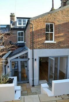 Complete renovation of semi detached house London contemporary-exterior – Home decoration ideas and garde ideas Side Return Extension, Rear Extension, Extension Ideas, Victorian Terrace, Victorian Homes, Style At Home, Casa Loft, House Extension Design, Contemporary Architecture