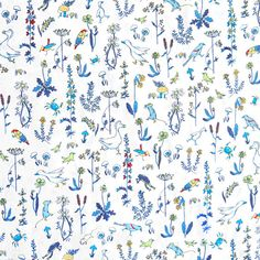 Liberty of London Tana Lawn: Theo Blue (C)