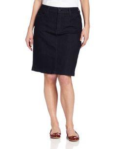 NYDJ Womens Plus-Size Rebecca Skirt