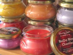 Our first jar candle - the Glow Pot
