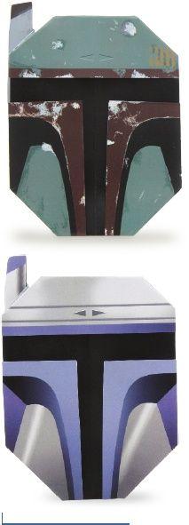 Star Wars Origami - Boba Fett folding instructions