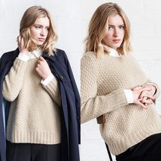 Knitting | Knitting project | Moda | Girl | Pullover | Pullover Sweater | Pullover stricken | Pullover outfit | Pullover nähen | Pullover stricken anleitung | Stricken | Stricken deutsch | Stricken anleitungen | Sweaters | Sweater dress | Sweater outfits | Sweater for fall | Sweater weather