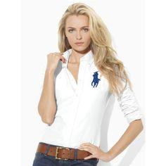 Ralph Lauren Womens Long Sleeve Shirts Outlet Uk