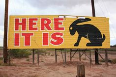 Route 66 - Jack Rabbit Trading Post Photograph