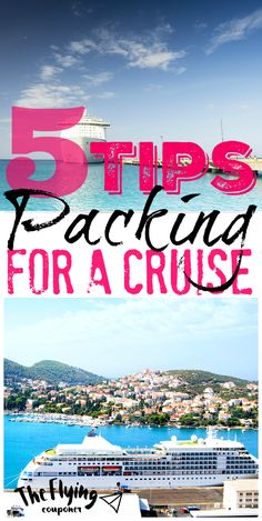 Packing for a cruise. Tips and Ideas for packing your suitcase. Family Travel. The Flying Couponer | Family. Travel. Saving Money.