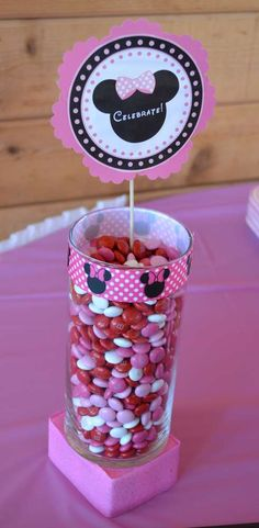 Minnie Mouse Birthday Party Ideas   Photo 1 of 9   Catch My Party