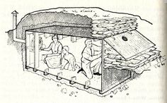 """In 1966 the US Department of Defense published the """"Personal and Family Survival Manual"""" which included a chapter which explained how to build the family fallout shelter."""