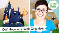 DIY Hogwarts Desk Organizer | @laurenfairwx