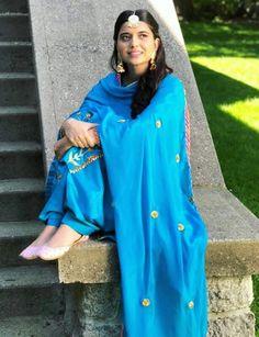Punjabi Fashion, Asian Fashion, Women's Fashion, New Punjabi Suit, Nimrat Khaira, Punjabi Models, Punjabi Girls, Indian Designer Suits, Patiala Suit