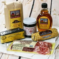 Vermont Breakfast Assortment, $45, now featured on Fab.  *mouth waters*