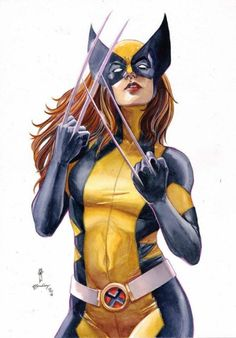 All-New Wolverine (X-23) by Garrie Gastonny & elfandiary