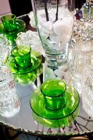 Leaf green glass!  Love it!