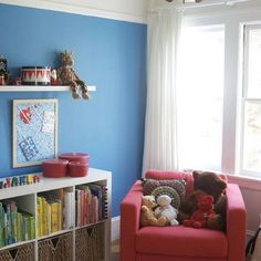 Book Shelf Above Sofa Design, Pictures, Remodel, Decor and Ideas - page 2