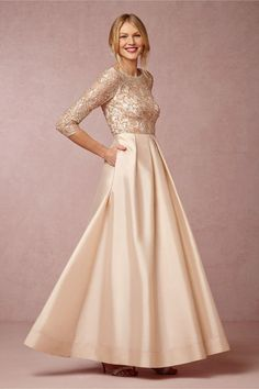 da60d9bf042 3 4 Long Sleeves Prom Dresses 2015 New Arrival Evening Gowns With Pockets  Beaded Tulle · Mother Of Groom ...