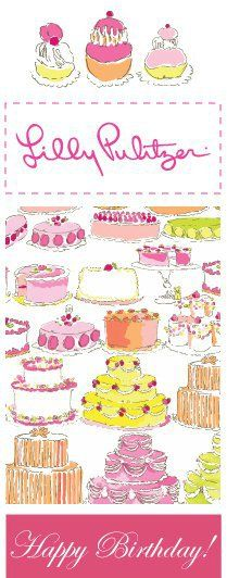 Lilly Birthday Cakes