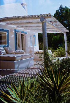 Um jardim para cuidar: A casa de Jacques Grange na Comporta
