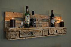 Palettenmöbel Regal No1 Natur von Woody Dekor - rustikale Palettenmöbel und Wohninterieur aus Holz auf DaWanda.com ähnliche tolle Projekte und Ideen wie im Bild vorgestellt findest du auch in unserem Magazin . Wir freuen uns auf deinen Besuch. Liebe Grüße