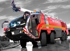 camión bomberos aeropuerto barajas