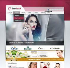 Kozmetik Firması İnternet Sitesi
