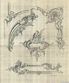 5 | Орнаменты в стиле рококо высокого качества | ARTeveryday.org