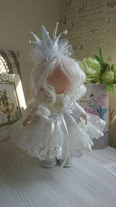 My darling princess.  https://www.etsy.com/shop/DollsLenaBergova