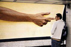 Standing in the right spot...Matt Stuart - a brilliant street photographer