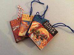 Cute Harry Potter mini book decorations