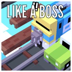 Crossy road fails