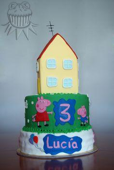 Peppa Pig Cake Tarta de Peppa Pig
