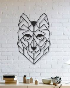 Kurt Metal Tablo - Wolf