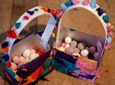 lightly enchanted: Easter Egg Baskets