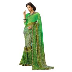 Fancy casual printed saree