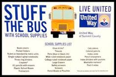 school supply drive - Google Search