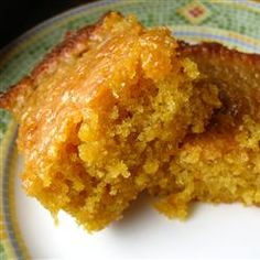 Golden Yam Brownies