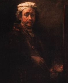 """How to recognize the artists of paintings--example: """"If everyone looks like hobos illuminated only by a dim streetlamp, it's Rembrandt."""""""