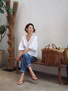 デニム Maki's wardrobe の画像|田丸麻紀オフィシャルブログ Powered by Ameba