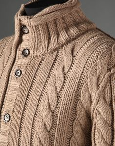 Cardigan Men - Cardigans & knits - The Dolce & Gabbana FW2013.