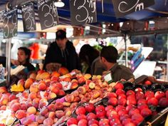 Eat Your Way Through These Colorful Parisian Markets : Condé Nast Traveler