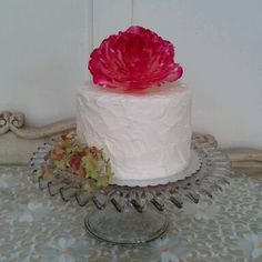 Wedding cake for an elopement at Churchill Manor.