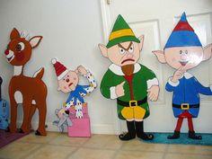 Island of Misfit Toys - Christmas Decoration Set - Handmade