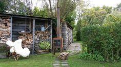 De Chillwood buitenhaard van cortenstaal Trunks, Plants, Drift Wood, Tree Trunks, Plant, Planets