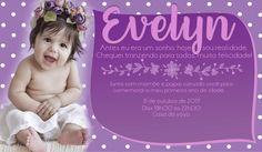 Convite de aniversário de 1 aninho (Photoshop)