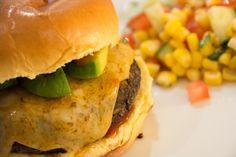 Jalapeño Black Bean Cheeseburger - Powered by @ultimaterecipe