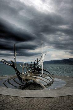 Reykjavik harbour :: Reykjavik, Iceland. By Manυ. It never got dark when I visited.: